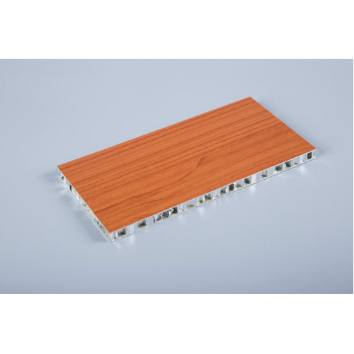 wooden grain aluminum honeycomb panel